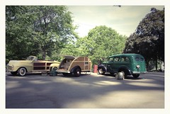 Teardrop Trailer (Michael Paul Smith) Tags: ford 1948 scale suburban models chevy trailer teardrop 1946 124th