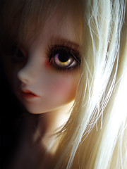 I can see the pain through your eyes (Laz~) Tags: wood eyes doll princess beetle blond bjd peaks punky fob