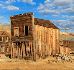 Bodie Ghost Town (S.I.B Fotos) Tags: usa alt himmel ruine ghosttown bodie bridgeport kalifornien verschlag