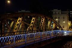 The Eiffel Bridge (michalfabik) Tags: city night sarajevo eiffelbridge skenderija