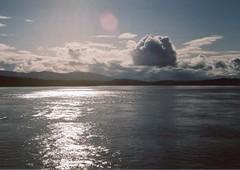 * (mie**) Tags: sea canada ferry canon evening petit ae1p fujixtra400 fd50mm