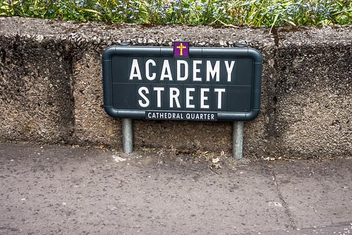 Academy Street - Cathedral Quarter (Belfast)