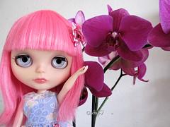 Blythe a Day June: 2 - Flower