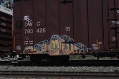 IMG (euphonic.) Tags: canada car cn train bench graffiti fan spring stock rail sunny canadian national alberta graff railfan freight rolling sluts rollingstock yellowhead benching