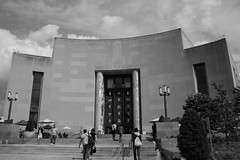 "Brooklyn Central Library B&W • <a style=""font-size:0.8em;"" href=""http://www.flickr.com/photos/59137086@N08/7358440496/"" target=""_blank"">View on Flickr</a>"