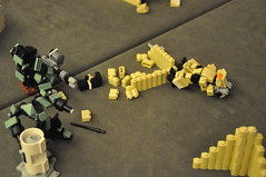 An Honorable Death (Mitten Ninja) Tags: mobile demo comic lego denver frame zero con tabletop mecha mech