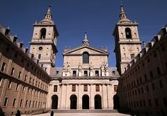 Monasterio de El Escorial (David Fernndez Molina) Tags: madrid espaa spain pueblo iglesia ciudad escorial davidfm