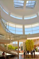 The Getty Center (Mel@photo break) Tags: california usa building art museum architecture la los angeles mel getty melinda curve  thegettycenter thejpaulgettymuseum chanmelmel melindachan