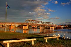 81 Year Old Macksville Bridge - Macksville, Mid North Coast, NSW, Australia (Black Diamond Images) Tags: bridge cloud river australia nsw afternoonlight pacifichighway bdi macksville midnorthcoast australianbridges oldbridges nambuccariver macksvillebridge nswbridges