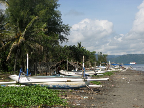 Fishing Boats in Lombok, Indonesia. Photo by Dedi Adhuri 2012.