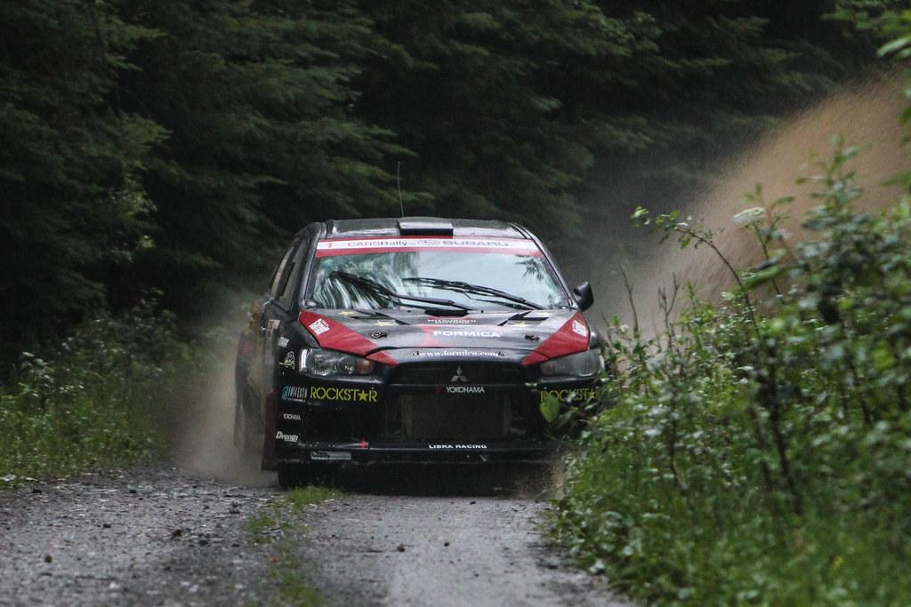 Antoine L'Estage - Nathalie Richard - Rallye Baie-des-chaleurs 2012