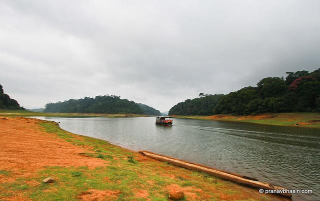 The Lone Boat At Periyar Tiger Reserve, Thekkady