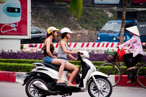 Hanoi Motorbike Honeys