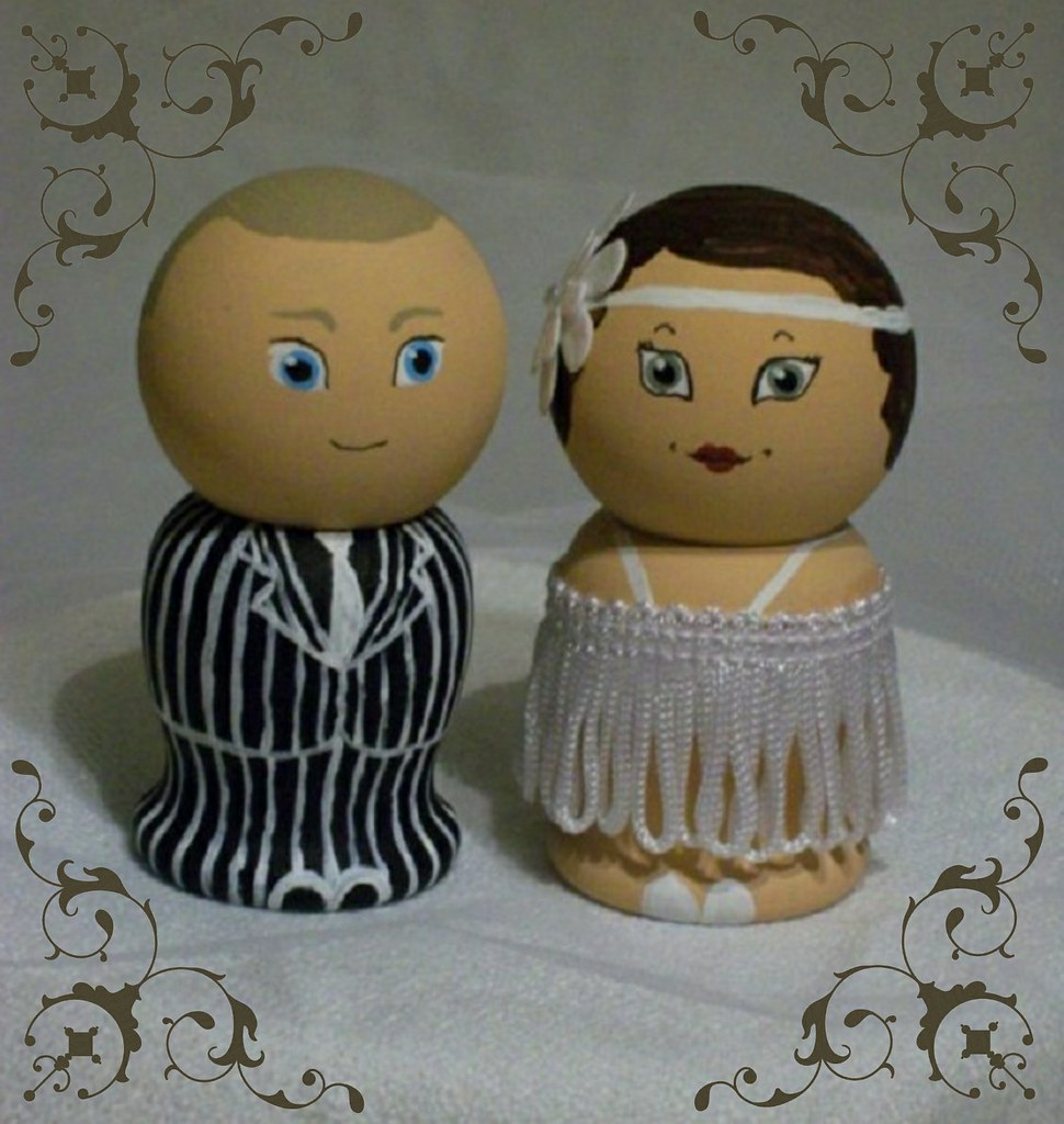 gangster wedding cake toppers the world s best photos of 1920s and cake flickr hive mind 14643