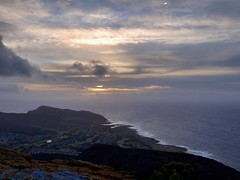 morning (TheBigPineapple) Tags: ocean blue sunrise landscape island hawaii coast waves oahu crater tropical honolulu kokohead