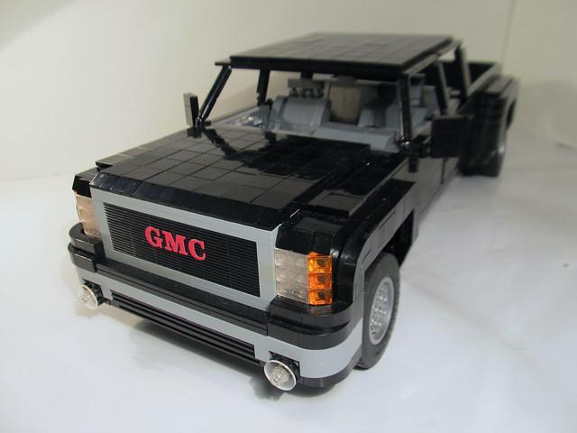 truck lego sierra gmc lugnuts 3500 1ton dually