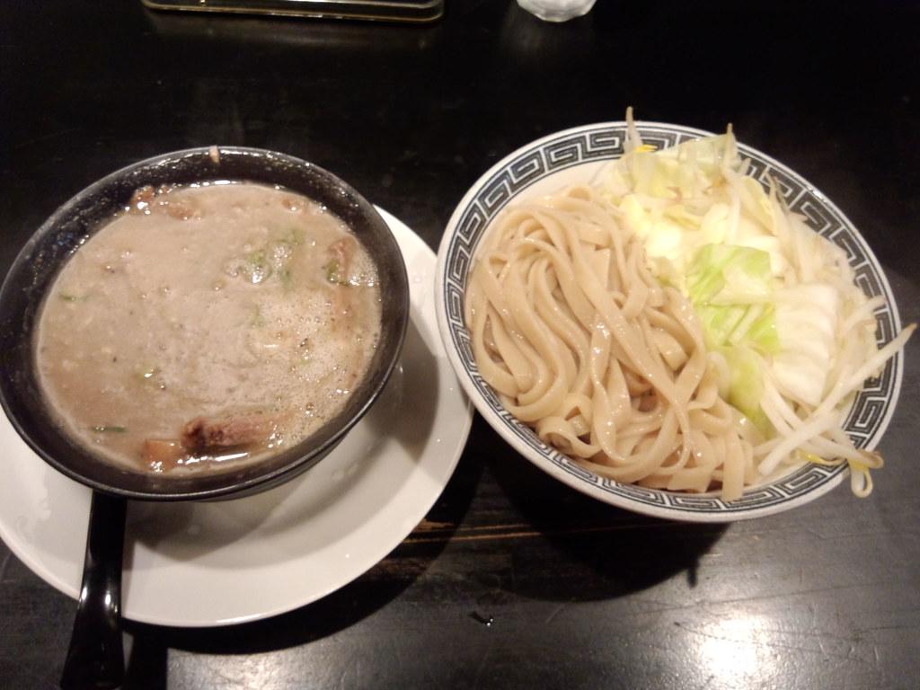 J塩つけ麺肉多目 by rhosoi, on Flickr