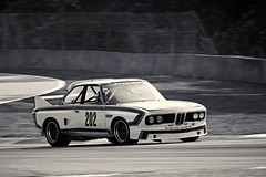 1973 BMW CSL (autoidiodyssey) Tags: cars race vintage de events bmw 1973 csl ch haan mitty roadatlanta group5 themitty 2012classicmotorsportsmitty