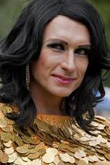 Golden Girl (Poupetta) Tags: golden liveandletlive youngandbeautiful hesperiapark proudandbeautiful helsinkipride2012