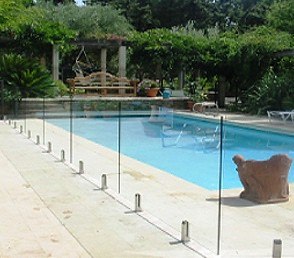 glass pool fence prices