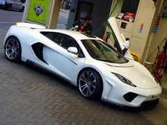 Refuelling (BenGPhotos) Tags: fab white london car design mclaren british tuning supercar v8 spotting mp4 terso tuned 12c mp412c