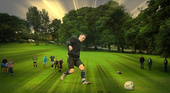 Danny Smith training for NE38 football team... (Bob T...) Tags: morning trees grass training ian fun washington flickr lads sunday bob son smith danny bobthompson having thompson the gaffa barmston mygearandme ringexcellence ne38footballclub