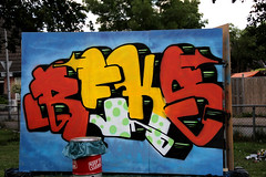 graffiti (wojofoto) Tags: holland graffiti nederland netherland jam 2012 almere reks wolfgangjosten wojofoto