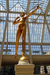 NYC - Metropolitan Museum of Art: Diana (wallyg) Tags: nyc newyorkcity sculpture ny art statue museum manhattan ues gothamist artmuseum metropolitanmuseum themet uppereastside metropolitanmuseumofart museummile augustussaintgaudens