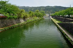The Lake Biwa canal, Kyoto /  (Kaoru Honda) Tags: street city heritage japan river landscape japanese canal nikon scenery kyoto industrial traditional   kansai japon   kinki  sosui     lakebiwacanal d7000