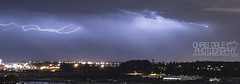 July 20th 2012 Thunderstorm over Portland, OR (Chris Daley Photography) Tags: sky storm west beautiful electric night oregon portland cityscape northwest flash north lightning thunder