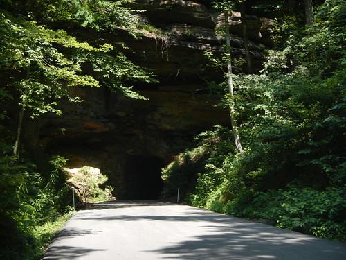 Nada Tunnel, entrance