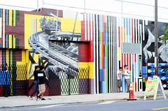 taco heat (SooSee.Q) Tags: walking graffiti miami pedestrian fl artwalk wynwood