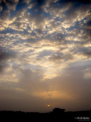 Ramadan Cloudy Sunset (AboRa3d) Tags: sunset sky cloud yemen  hdr       hadhramout