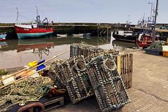 Gourdon harbour (cal 311) Tags: sea canon boats fishing harbour northeast gourdon 50d