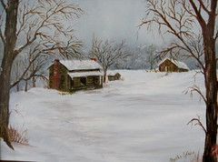 Winter Calm - oil