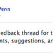 "Chris Penn's ""official Facebook thread"" for his weekly email newsletter"