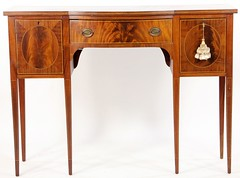 50. Hepplewhite style Inlaid Server