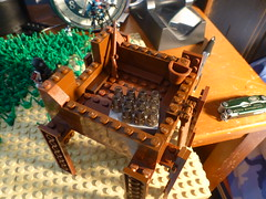 My first build over 10x10 WIP (SillyKidzGTL) Tags: brick grass desert lego apocalypse trail minifigs pick vignette pickabrick brickarms apocalego firstover10x10