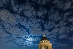 Backlit (brefoto) Tags: cloud paris france monument night studio stars pantheon fullmoon cumulus panthon 5me brefoto