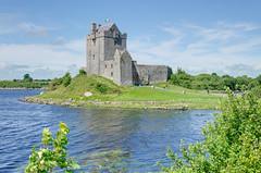Dunguaire Castle (Jonathan Palfrey) Tags: photo digital photomatix exposurefusion landscape dunguairecastle bay kinvarra galway connacht ireland