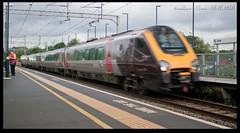 Lady in Red (zweiblumen) Tags: uk england station railway crosscountry express westmidlands tipton polariser canoneos50d zweiblumen