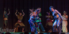 Tribe of the Honeybadgers (Sue_Hutton) Tags: summer dancers leicester performance performers showcase pussyposse heikehumphreys theytheatre july2016 tribeofthehoneybadgers gothlauk2016