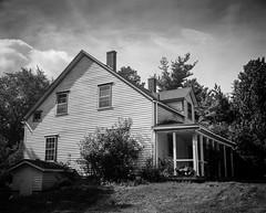 Campbell House 6 (chrism229) Tags: chamonix4x5 schneiderkreuznach 127mmf47 fp4 diafine hasselbladx1 largeformat film blackandwhite monochrome