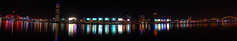 Han River at Night (Explored 21 July 2016) (iecharleton) Tags: nikon d3300 danang vietnam panorama night cityscape river water ngc
