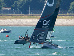 Americas Cup (Bernie Condon) Tags: sailing sail race americascup water solent portsmouth uk sport yacht
