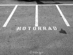 IMG_3909-KirstenEggers (Kiki m. E.) Tags: moped motorrad parkplatz parking markierung sign mark weiser sterreich bregenz asphalt tarmac
