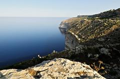 The Dingli Cliffs with morning light - Malta (PascalBo) Tags: nikon d300 malta malte europe dingli seascape sea mer landscape paysage outdoor outdoors pascalboegli