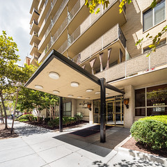 The Seville (Chimay Bleue) Tags: seville building washington dc 14th street corridor midcentury modern modernism modernist architecture canopy tower
