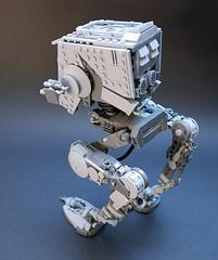 AT-ST v2.2, back (GolPlaysWithLego) Tags: lego moc atst walker starwars