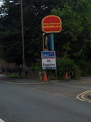 Wimpy in Wakefield (BillyBritvic) Tags: wimpy wakefield